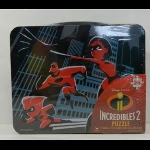 New incredibles2 lunchbox with puzzle